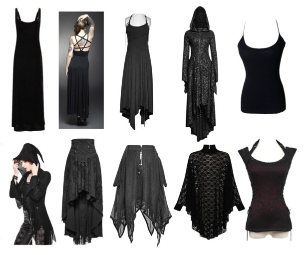 The Gothic Shop Blog Witchy Goth Summertime Capsule