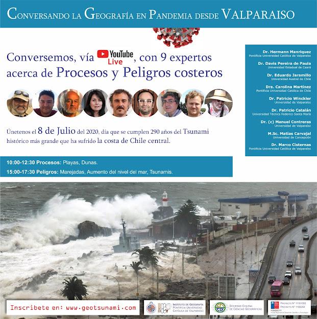 Conversando la Geografía en Pandemia desde Valparaíso