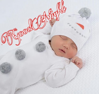 cute baby good night image pics photo Download new hd