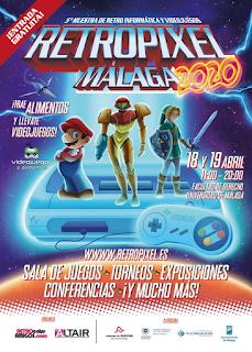 RetroPixel Málaga 2020 (pospuesto)
