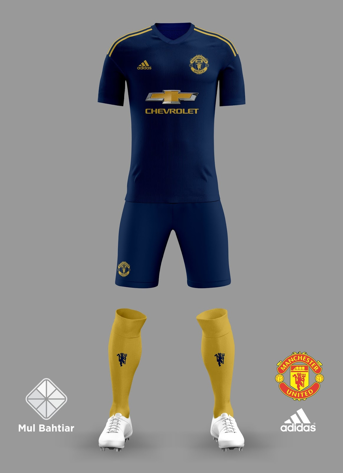 info for 487aa 7de15 MANCHESTER UNITED 2018-2019 THIRD KIT | Mul Bahtiar