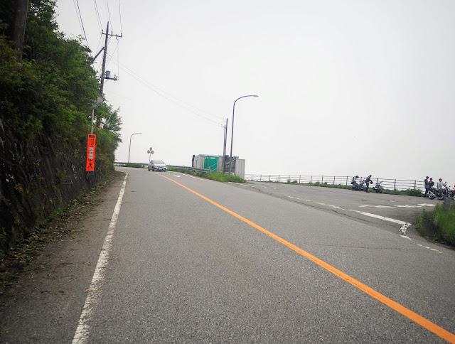 栗山日光線 六方沢展望台駐車場