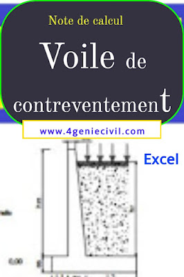 Exemple de note de calcul de voile de soutènement pdf