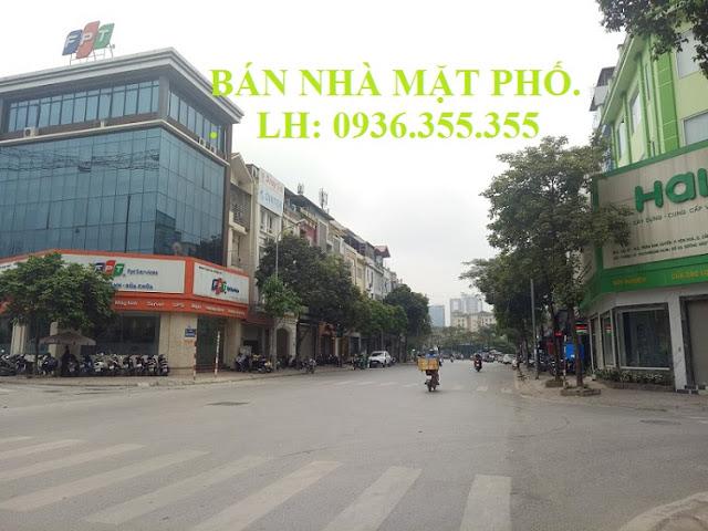 Bán nhà mặt phố Trần Kim Xuyến, Cầu Giấy