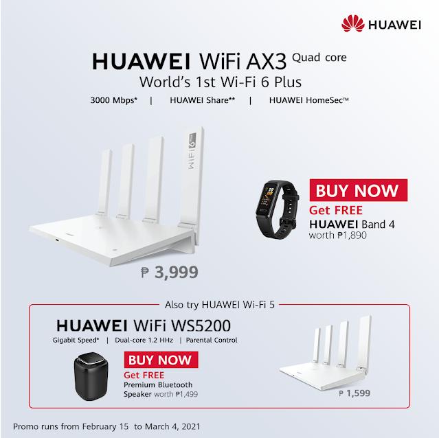 Huawei WiFi AX3 Router Gizmo Manila