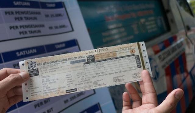 cara bayar pajak motor online