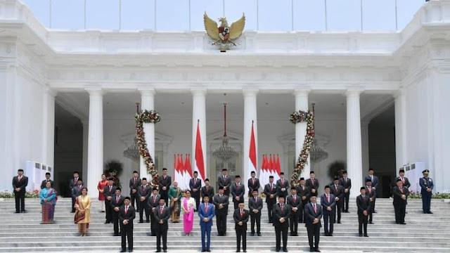 Daftar Akun Medsos Menteri dan Wamen Kabinet Indonesia Maju