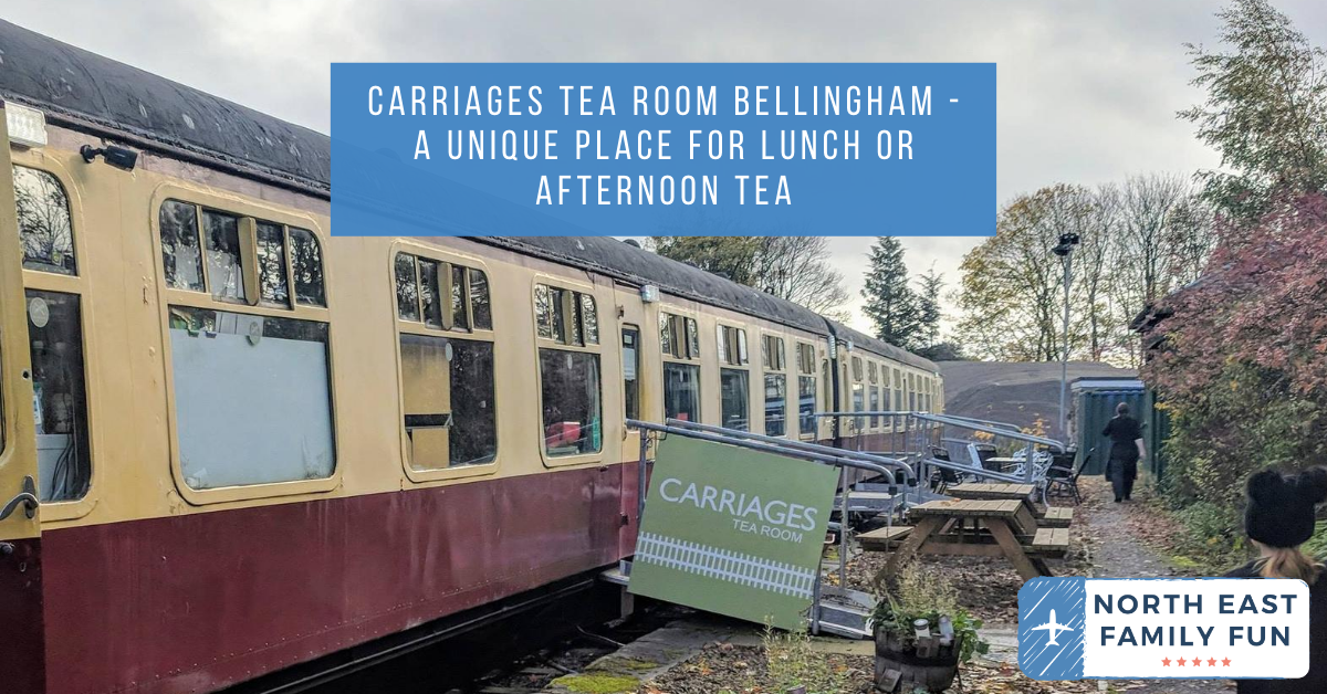 Carriages Tea Room Bellingham - A unique place for lunch near Hareshaw Linn