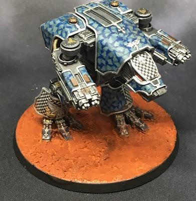 Legio Tempestus Warhound Battle Titan