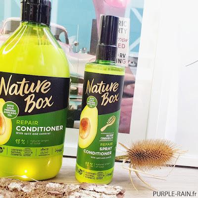 PurpleRain Repair Spray Conditionner Avocado - Nature Box