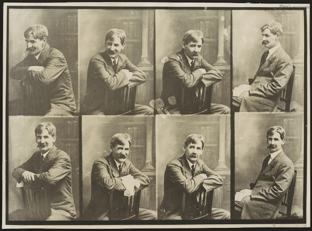 Portrait photographs of Henry Lawson (circa 1915-1922)