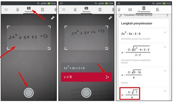 Cara Menyelesaikan Soal Matematika Hanya dengan Foto