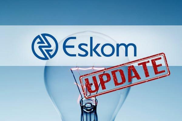 Eskom says  NO load shedding on Tuesday,