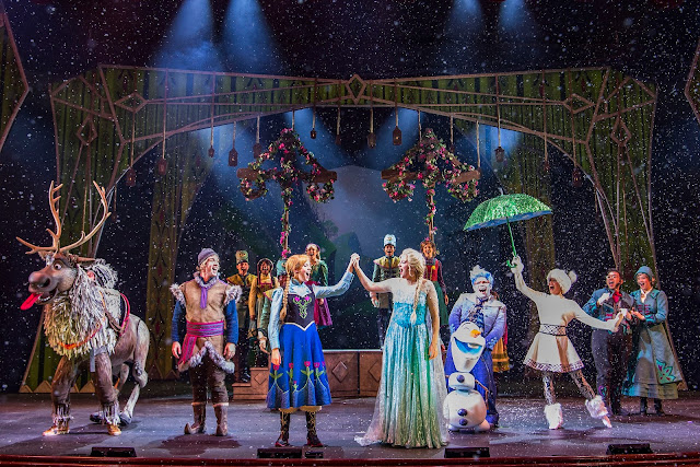 Frozen, A Musical Spectacular, Disney Wonder Cruise Ship