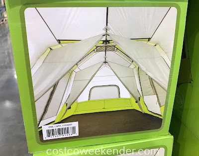 Toughing it out in the wilderness just got easier with the Core 12 Person Instant Cabin Tent