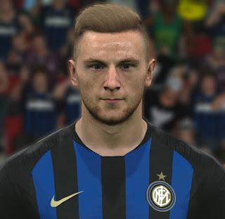 PES 2017 Faces Milan Škriniar by ABW_FaceEdit