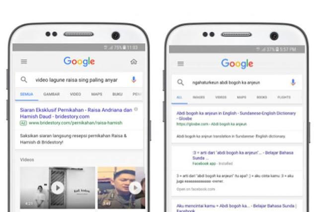 Google Voice Kini Memahami Perintah Dalam Bahasa Jawa dan Sunda