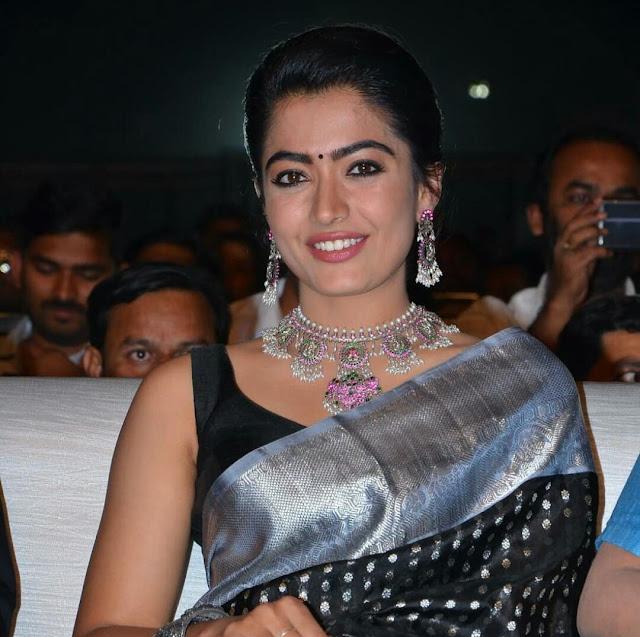 Rashmika Mandanna HD Saree Photos