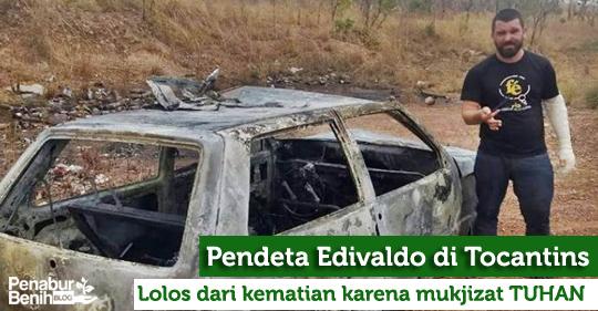 Tuhan menyelamatkan Pendeta dari detik kematian sebelum mobilnya meledak