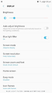 Blue Light Filter, Telefon Pintar, Fungsi Blue Light Filter, Penyaring Cahaya Biru, Samsung Note 5