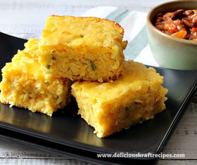 SUPER MOIST CORNBREAD RECIPE WITH CHEESE