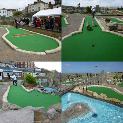 Strokes Adventure Golf in Margate was the 34th course played on our Crazy World of Minigolf Tour