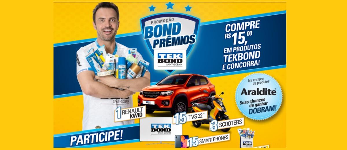 Promoção Bond Prêmios 2021 TEK BOND Produtos e Araldite