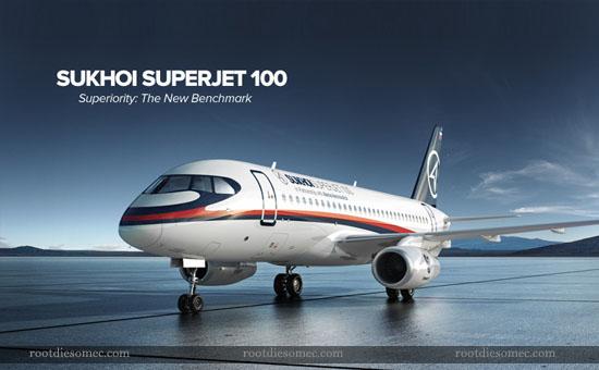 Pesawat Terbang Sukhoi Superjet SSJ-100