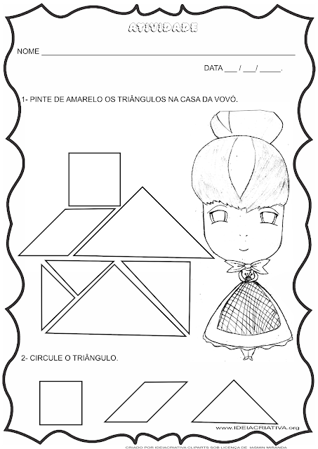3 Atividades para trabalhar formas geométricas, coordenação motora, contagem e registro em turmas de Educação Infantil Final