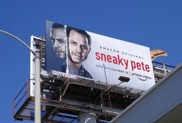 Sneaky Pete season 3 billboard