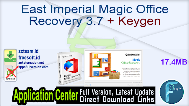 East Imperial Magic Office Recovery 3.7 + Keygen_ ZcTeam.id