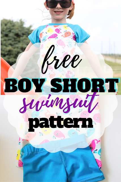 Learn how to make a swimsuit and what you need to be successful along with a free kids rash guard pattern and boy shorts swim trunks.