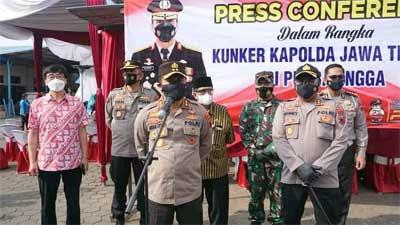 Kapolda Jateng Kunjungi Vaksinasi Buruh di Purbalingga