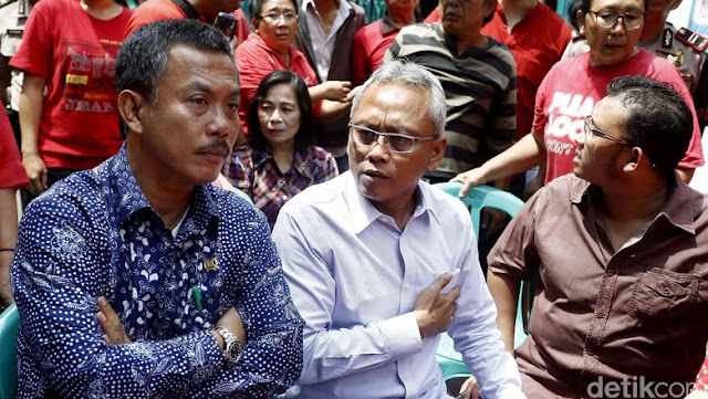 Ketua DPRD DKI Dan Anggota DPR Ini Tolak Rencana Penggusuran di Mangga Besar
