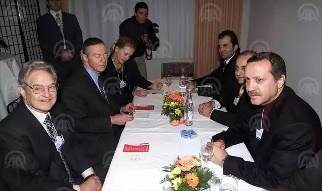 2003 παγκόσμιο οικονομικό φόρουμ Νταβός  οι δήθεν  εχθροί στο ίδιο τραπέζι, το τι δούλεμα πέφτει δεν λέγεται