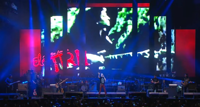 Banda de Rock el Tri en Concierto