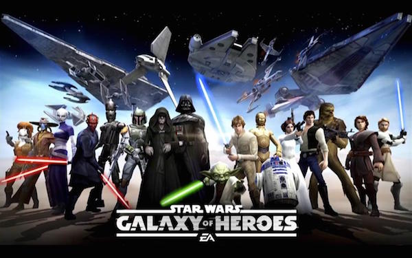 3. Star Wars Galaxy of Heroes  free apk android game