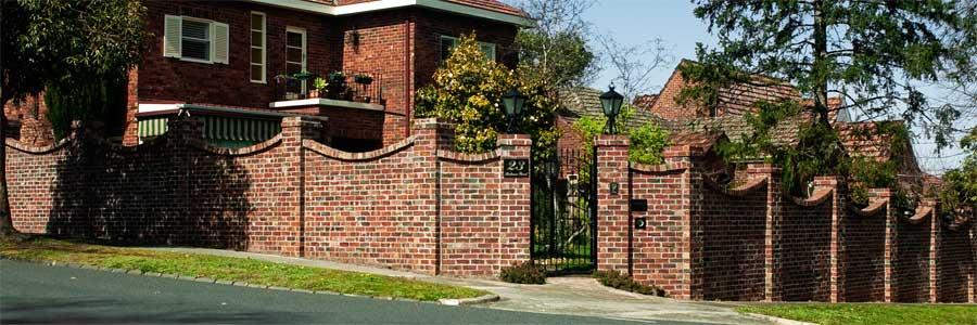 Brick Wall Fence Designs: Wall Design