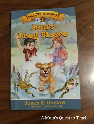 book cover of Jem's Frog Fiasco