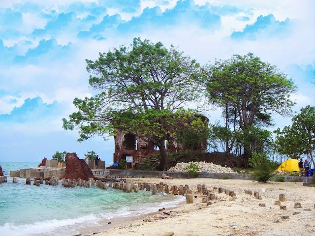 Pulau Kelor, Pulau Onrust, dan Pulau Cipir
