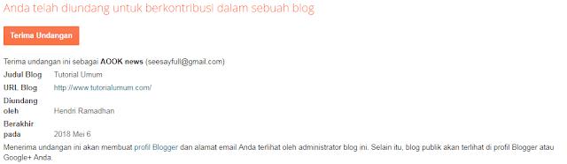 Cara Untuk Menambah, Menghapus, Atau Mengganti Admin Blogspot