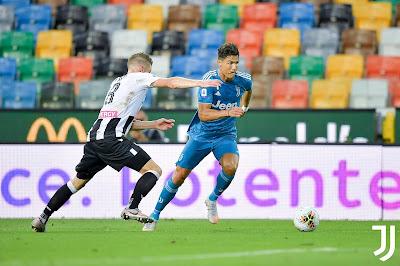 ملخص واهداف مباراة يوفنتوس واودينيزي (1-2) في الدوري الايطالي