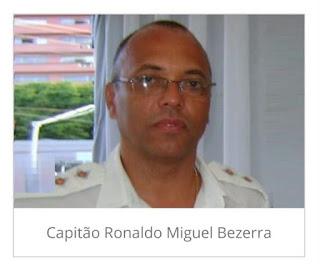 Morre vítima do Covid-19  o Capitão Ronaldo do Hospital Edson Ramalho na capital JP.