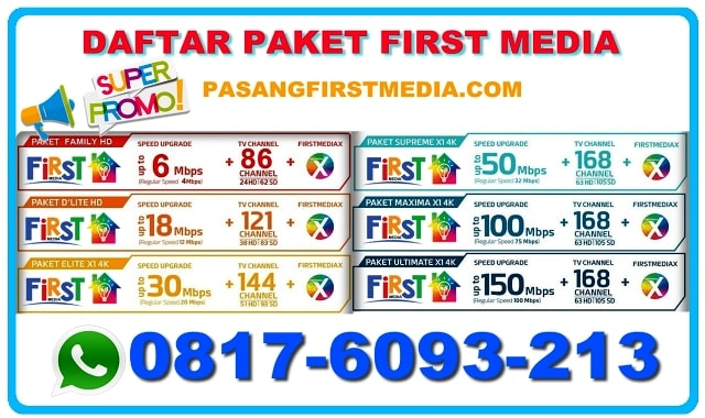 DAFTAR PAKET FIRST MEDIA