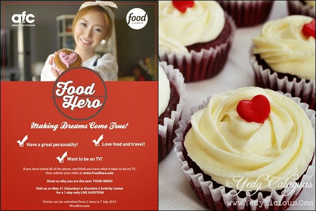 FOOD HERO of Asia Food Channel and Food Network Asia
