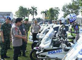 Kapolda Jambi Pimpin Apel Pasukan Operasi Ketupat 2019