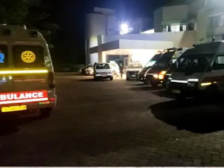 वापी जनसेवा में ऑक्सीजन लाइन में खराबी, सभी 108 एम्बुलेंस को बुलाना पड़ा। - Vapi Media News