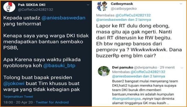 BuzzeRp Ngaku Tak Dapat Bantuan Dari Ustadz Anies Saat PSBB, Malah Kena Tampol