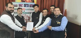 Akhil Bhartiya Parivar Party Registration certificate