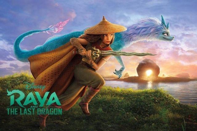 FILM - Raya and the Last Dragon 2021 Dub Indonesia